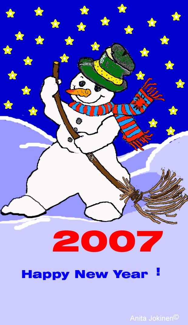 Mr. Snowman animaation wish 2007 to wellcome !